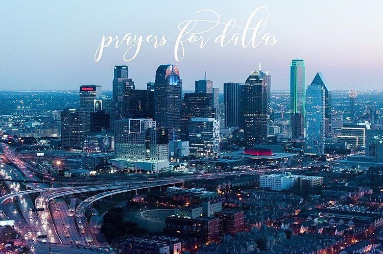 #PrayForDallas